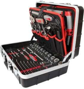Profi Werkzeugkoffer Professional im hochwertigen ABS-Koffer 150-teilig 60700