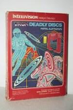 TRON DEADLY DISCS GIOCO USATO INTELLIVISION EDIZIONE ITALIANA MATTEL FR1 55007