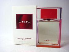 CHIC Carolina Herrera for Women  2.7 oz EDP Spray BOX HAS NO CELLOPHANE WRAP