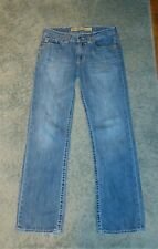 MENS SIZE 30 R BIG STAR UNION STRAIGHT ZIP FLY JEANS ACTUAL 31X32