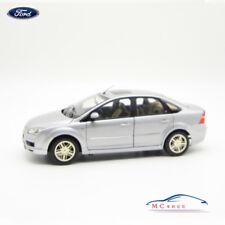 1:18 Ford Focus 2010 Sedan Die Cast Model Silver RARE