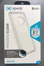 Genuine Speck Presidio Clear Impact Case for Samsung Galaxy S9