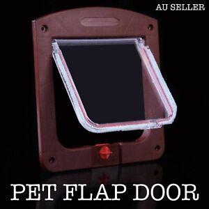 Lockable Cat Flap Door Kitten Dog Pet Lock Pet Flap Door for Household for Pets