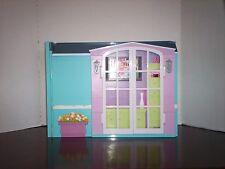 Barbie My House Fold Up Playset Dollhouse Mattel 2007 Lot