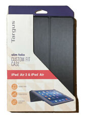 Targus Slim Folio Ioad Air 2 & Ipad Air Black Case Sleep/wake Magnet
