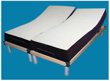 Comfort Posture Electric Adjustable Bed and Memory foam Mattress King size
