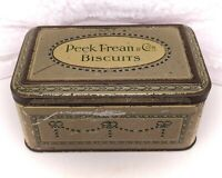 Vintage/Antique Biscuit Tin/Advertising-Peek Frean -Grey-Small