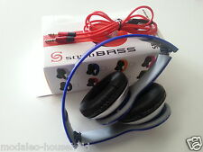 **Foldable Stereo DJ Style Headphones Earphone Headset Over Ear MP3/4 IPOD BLUE