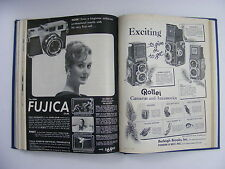 1958 Popular Photography II 6 Issue Jul-Dec Bound Hardcover Book Lots of Ads