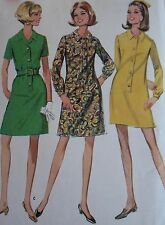 Vintage McCALL'S SEWING PATTERN #9424 DRESS 3 VERSIONS  Misses 14 Bust 36 Uncut!