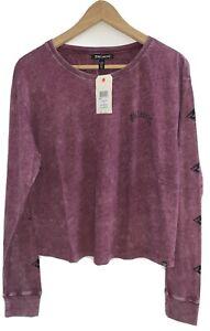 Billabong Chill Vibes Plum LS Surf Tee T-Shirt Tee. Size 10 & 12. NWT RRP $69.99