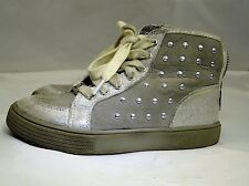 Gymboree  Silver/Grey Kids Girls Shoes Sneakers Size  11 US EURO 29 UK 12.5