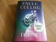 PAULO COELHO SIGNED - THE SPY - LIMITED FIRST EDITION HARDCOVER NEW - MATA HARI
