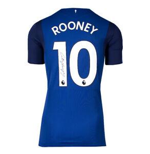 Wayne Rooney Signed Everton Shirt - 2018/2019, Number 10 Autograph Jersey