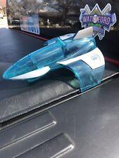 Fisher-Price Imaginext DC Super Friends Mr. Freeze Clear Jet Plane GUC