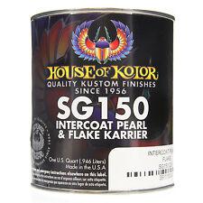 1 QUART INTERCOAT PEARL FLAKE KARRIER CLEAR House of Kolor Clear Basecoat SG150
