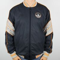 Vintage ADIDAS ORIGINALS Soft Shell Bomber Jacket | Retro Trefoil | Large L