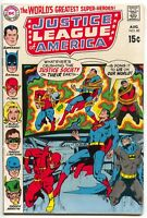 Justice League Of America 82 DC 1970 FN VF Superman Batman Flash JSA