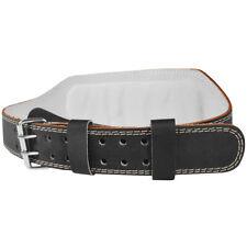 """Valeo 6"""" Leather Weight Lifting Belt"""