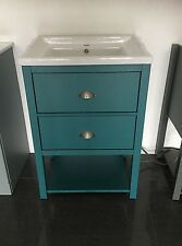 Painted Traditional Wash Stand Unit 600mm wide drawer bathroom Cabinet,