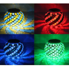 Outdoor Solar Color Changing LED Lights Ball Pond Pool Garden Path Landscape New