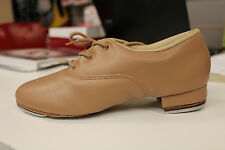 New Dance Jazz Tap Shoes Split Sole Caramel So Danca TA46 USA 8 1/2 womens