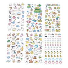 6 Sheets Cute Sea Lion Cartoon Japanese Decorative Stickers DIY PVC Stickers