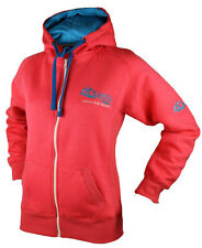 Atlantic Ireland Ladies Pink Contrast Full Zip Hoody Size 8 -10
