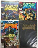 Nightstalkers #1, 4, 5,10 Marvel Comics Morbius Blade Punisher 1993 VF/NM