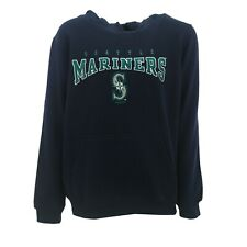 Seattle Mariners Official MLB Kids Youth Size Hooded Sweatshirt New With Tags