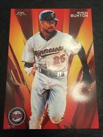 2016 Topps Fire Baseball Set Break 5x7 Byron Buxton Twins ROOKIE RC 23/99