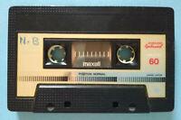 MC Musicassetta MAXELL XLI-S 60 vintage compact cassette audio tape USATA no tdk