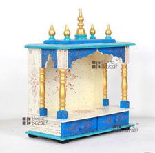 Wooden Handcrafted Home Mandir Pooja Ghar Mandapam Worship Hindu Temple KI-118