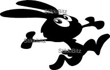 Cartoon Rabbit VW Camper Van Car Window Bike Sticker Decal Graphic SBRA2