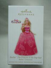 2012 Hallmark Keepsake Ornament Barbie The Princess and The Pop Star