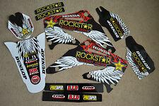 Rockstar team graphics Honda CRF450 CRF450R  2002 2003 2004  CRF