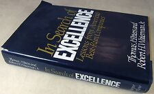 IN SEARCH OF EXCELLENCE Best Run Companies by Tom Peters & Robert Waterman 1982