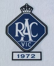 NEW AUSTRALIAN MADE 1972 RACV DECAL SUITS LC LJ HQ HOLDEN TORANA + MONARO