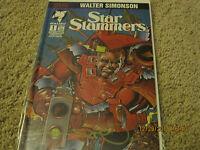 Star Slammers #1 signed by Walt Simonson with COA! LOOK!