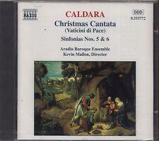 CALDARA - Christmas cantata (Vaticini di Pace) Sinfonias nos. 5&6 CD 1996 SEALED
