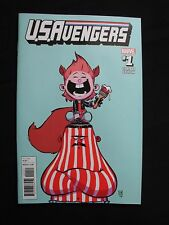 U.S.Avengers #1 - Skottie Young Variant Cover VF+ / NM