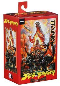 Burning Godzilla 1995 Classic 30cm From Head The Tail action figure Box NECA