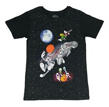 New listing Men's Space Jam Outer Space Bugs Bunny Lola Dunk Monstars Marvin T Shirt 2 Tone
