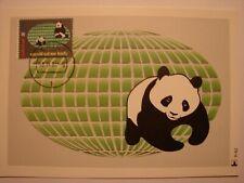 (NL1021) WILD ANIMAL PANDA WWF 1984 NETHERLANDS maximum maxi card postcard