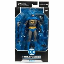 """McFarlane DC Detective Comic #100 BLUE BATMAN 7"""" Action Figure WALMART EXCLUSIVE"""