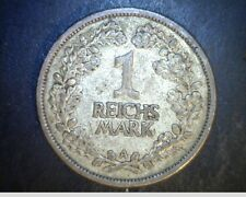 1926-A Germany,  1 Reichsmark, High Grade .0804 oz Silver (Ger-126)