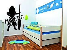 Moana Wall Mural Vinyl Decal Sticker Decor Cartoon Girl Hawaii Kids Room