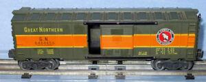 Vintage Post War LIONEL 6464 450 Boxcar - Great Northern Railroad.Toy Train Car