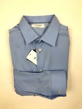 "ETON - Blue Super Slim Fit Shirt - 17""/43cm - *NEW WITH TAGS* RRP £130"