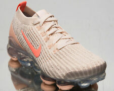 Nike Air VaporMax Flyknit 3 Women's Light Cream Pink Athletic Sneakers Shoes